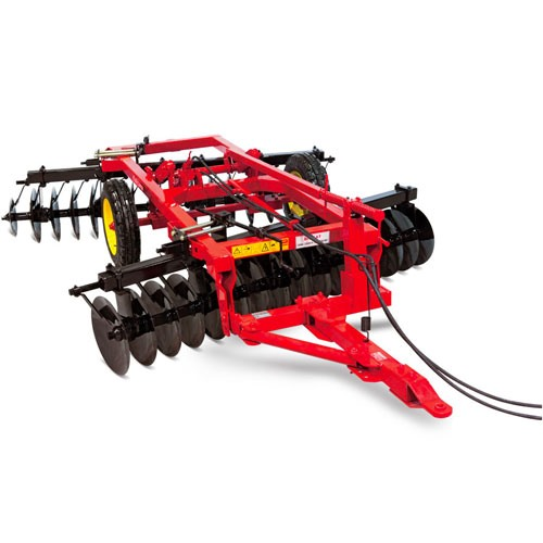 TRAILED OFFSET DISC HARROW WITH LIFT AND WHEEL CLTD