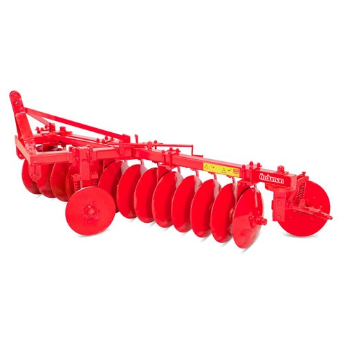 MOUNTED ONE WAY DISC HARROW WITH DOUBLE BALANCE WHELL VNY